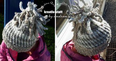 DIY Stricken – Mütze mit Fransen