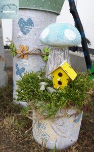 DIY – DEKO mit Baumstämmen für drinnen und draußen – kreativstattandrea – DIY, Schöne Dinge ...