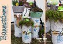 DIY – DEKO mit Baumstämmen für drinnen und draußen