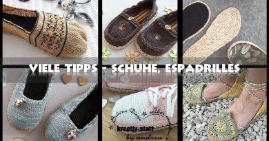 DIY Häkeln Espadrilles – 8 nützliche Tipps für gehäkelte Schuhe und Espadrilles [Wie man]