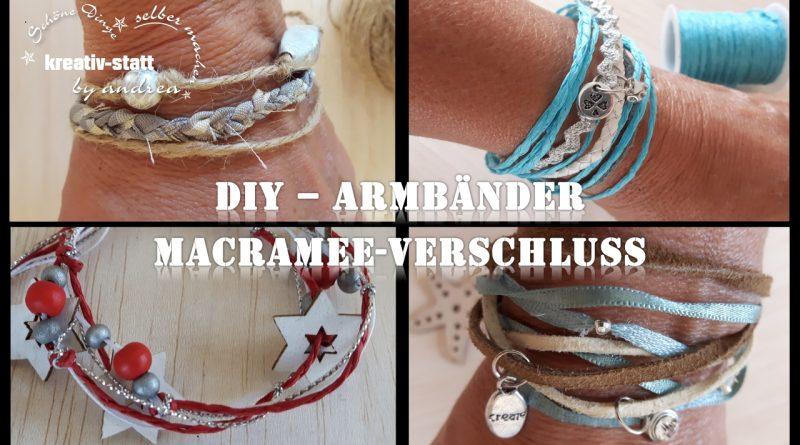 DIY Schmuck – Armband mit verstellbarem Macramee-Verschluss [Wie man]