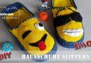 DIY Häkeln – EMOJI Smilies Hausschuhe Pantoffeln – Kostenlose Anleitung (Wie man)