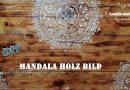 DIY – Mandala Wandbild auf Holz mit Kreidefarbe / Vintage Shappy Look