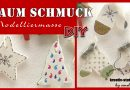 DIY Weihnachten – Baumschmuck aus Modelliermasse selber machen