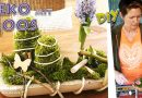 DIY – Frühlinsdeko Osterdeko mit Moos + Frühlingsblumen in Holzschale