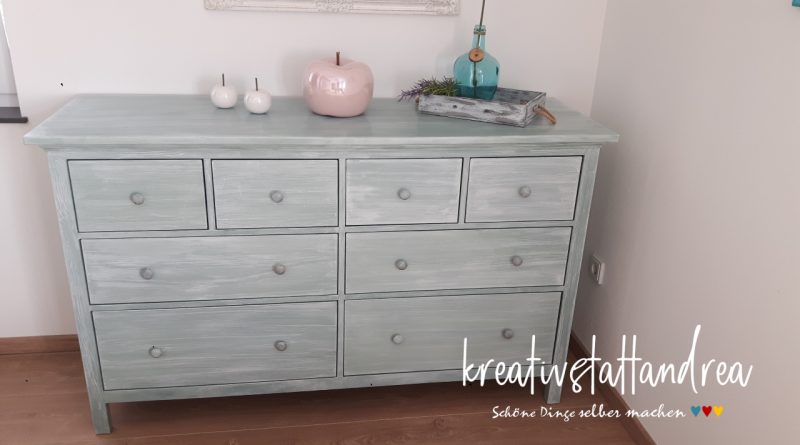 Diy Kommode Streichen Im French Country Finish Ikea Hack
