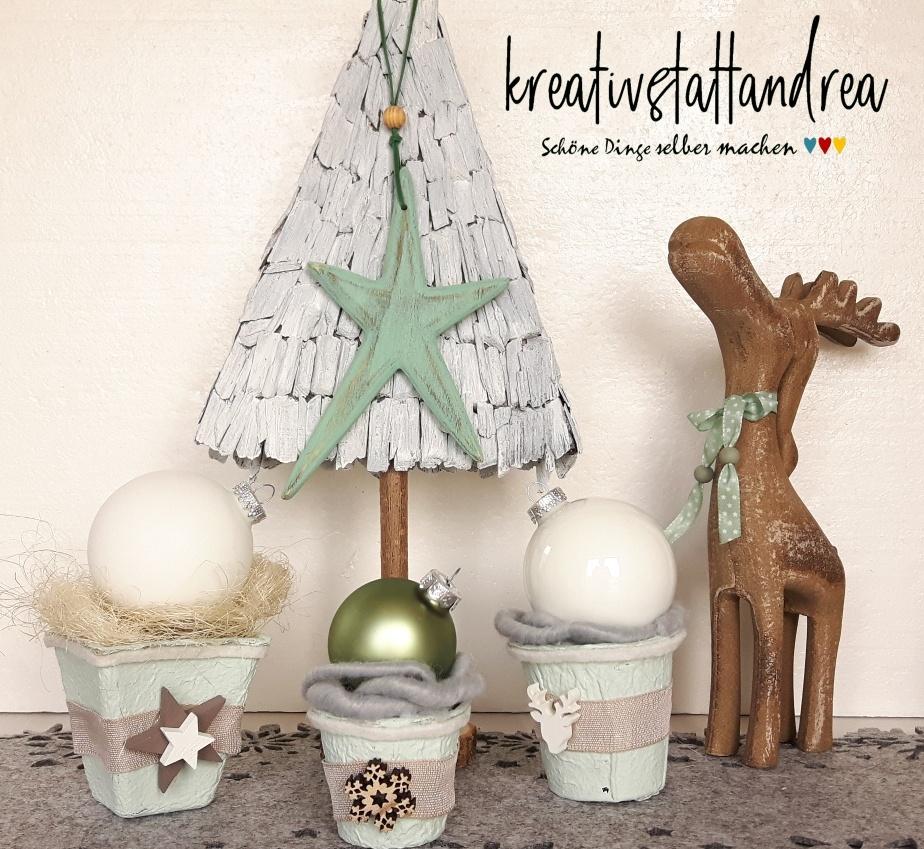 Weihnachtsdeko Günstig Selber Machen.5 Diy Dekoideen Für Weihnachten Kreativstattandrea Diy Schöne