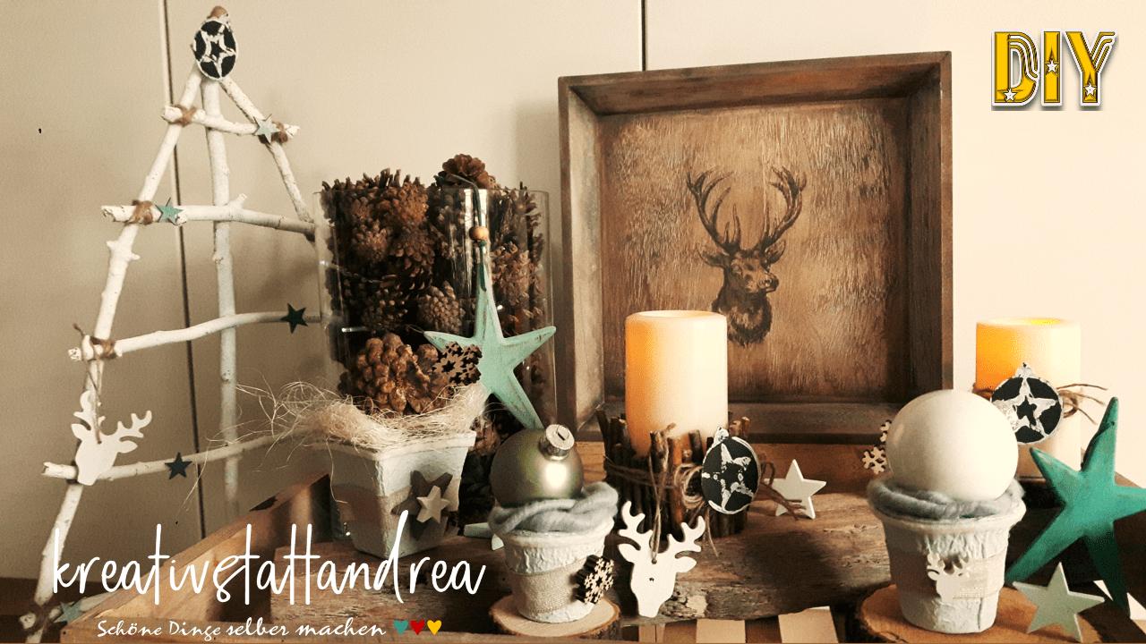 5 DIY – Dekoideen für Weihnachten