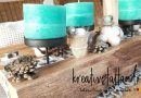 DIY – Holz Adventskranz | Kerzen selber gießen | Tipps + Tricks
