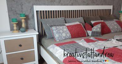 DIY – Möbel streichen | Bettgestell & Nachtkästchen