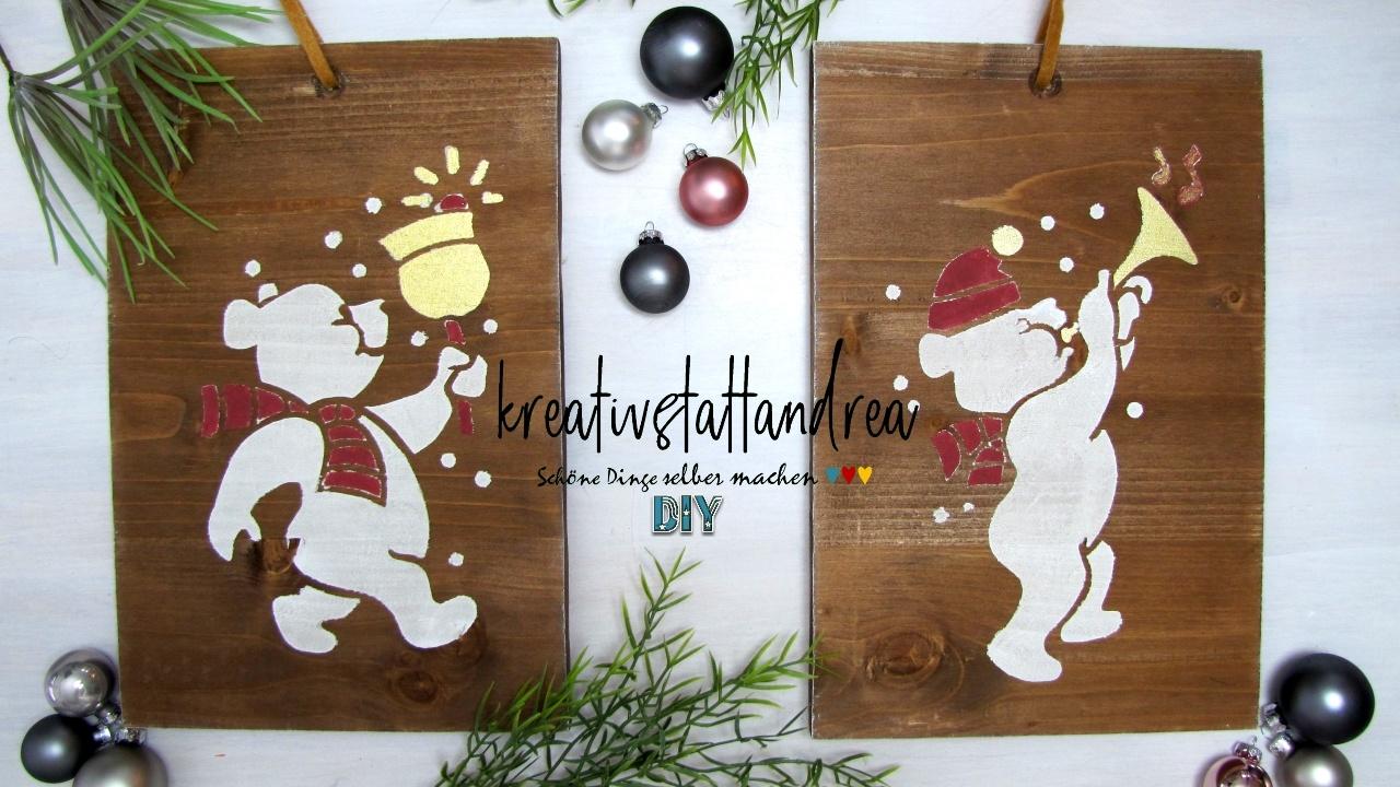 Sehr DIY – Weihnachtsgeschenke aus Holz selber machen FC94