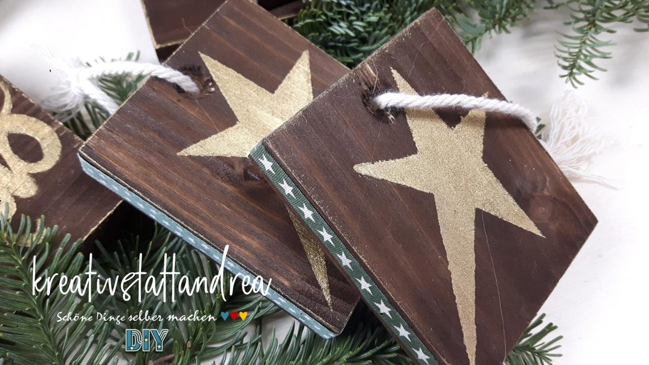 Sehr DIY – Weihnachtsgeschenke aus Holz selber machen OY97