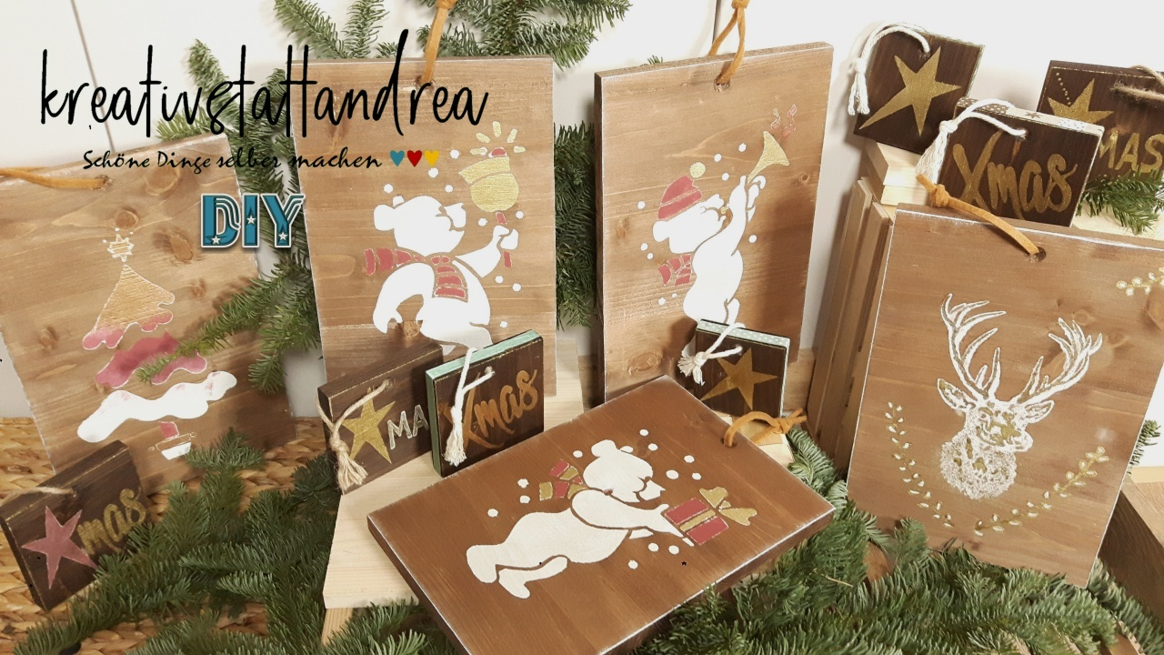 diy – weihnachtsgeschenke aus holz selber machen