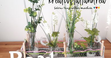 DIY – Holzkisten | Upcycling Obstkisten | Drahtgitter und Frühling