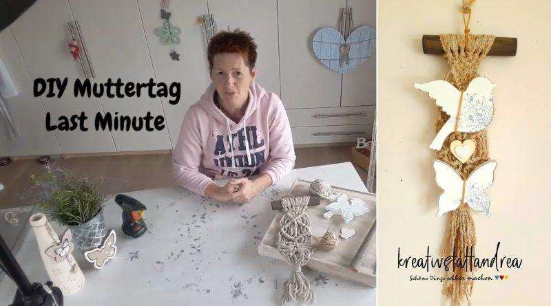 DIY – Muttertag | Last Minute Geschenk | Landhausstil