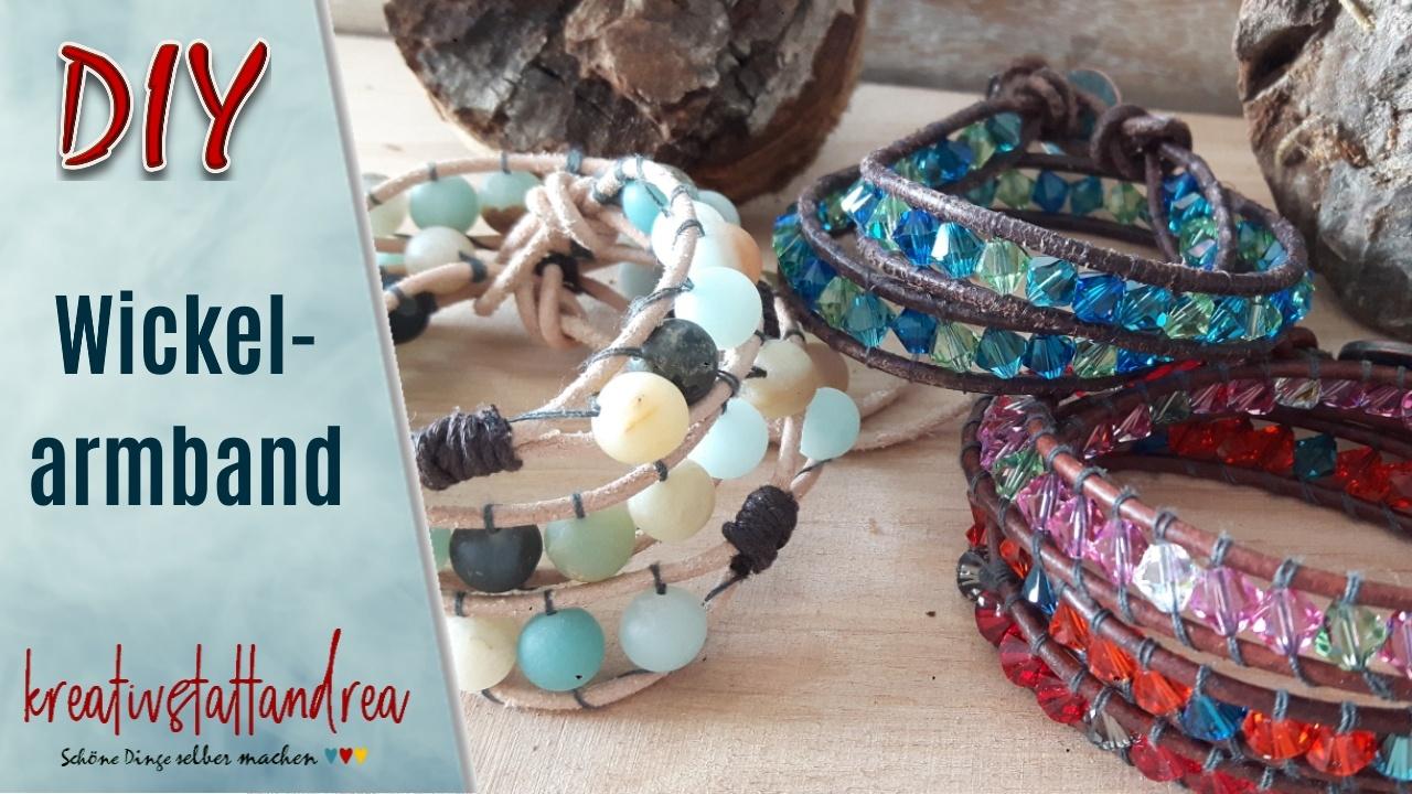 DIY – Wickelarmbänder mit Perlen einfach selber machen!