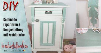 DIY – Möbel reparieren & streichen | Tipp Gerbsäure