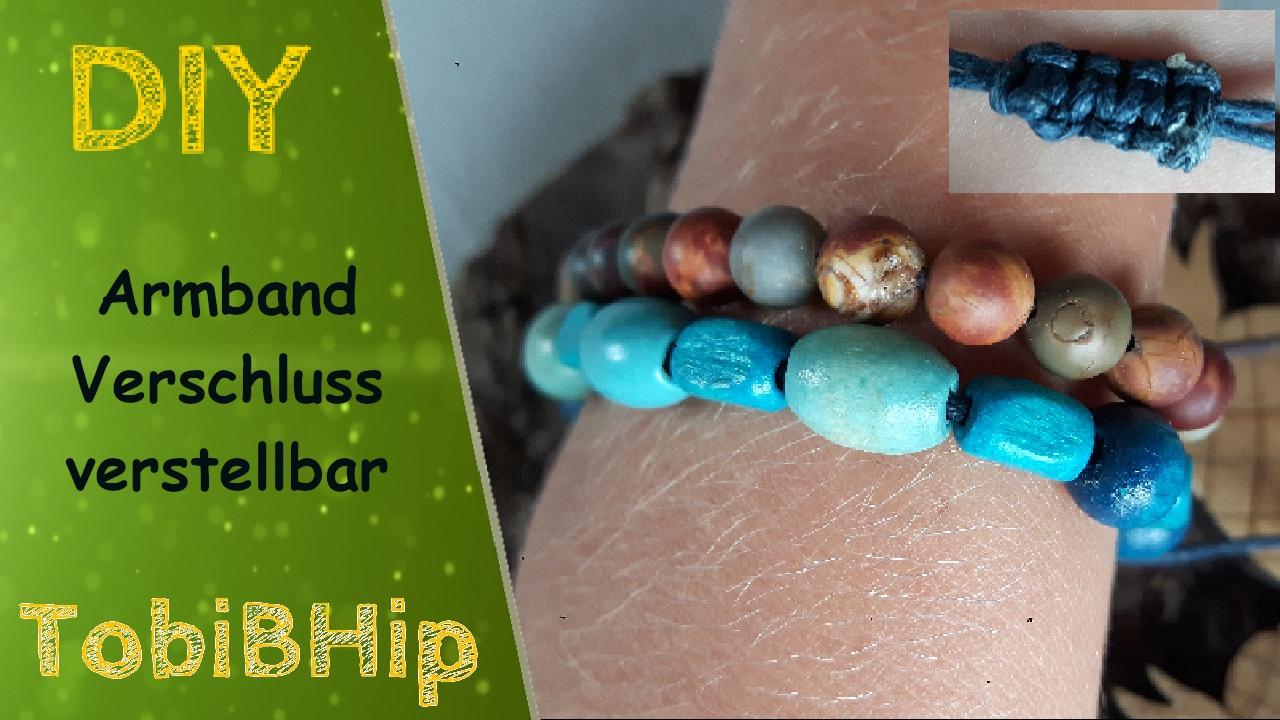 DIY – Armband mit Schiebeknoten aus Perlen