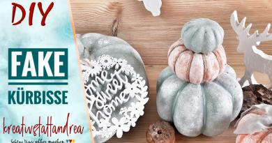 DIY – Fake Kürbisse für die Herbstdeko