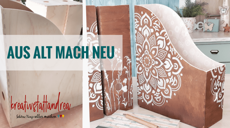 DIY – Holzboxen im Boho Style