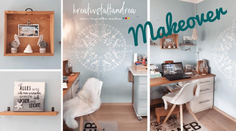MakeOver Craftsroom | Wand schablonieren