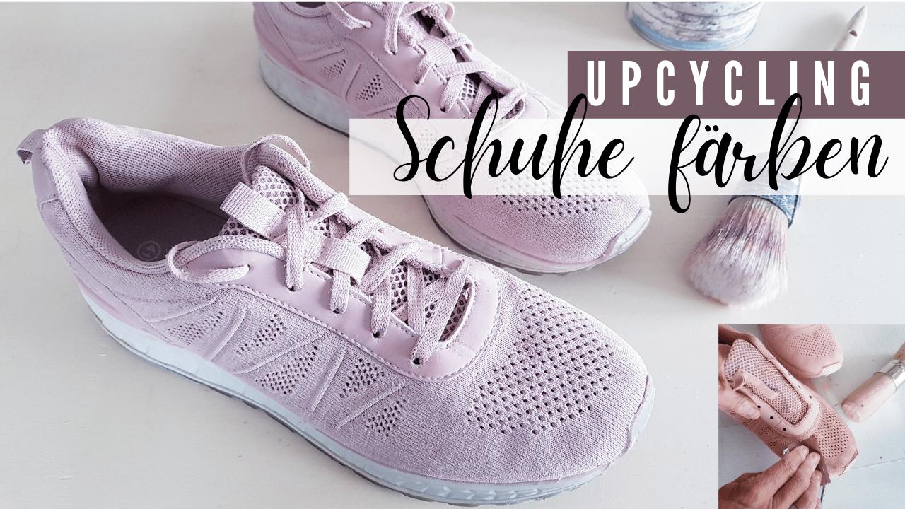 DIY Upcycling – Schuhe färben mit Kreidefarbe
