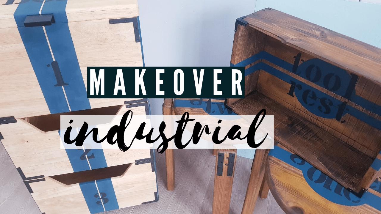 DIY Makeover – Möbel im Industrial Style