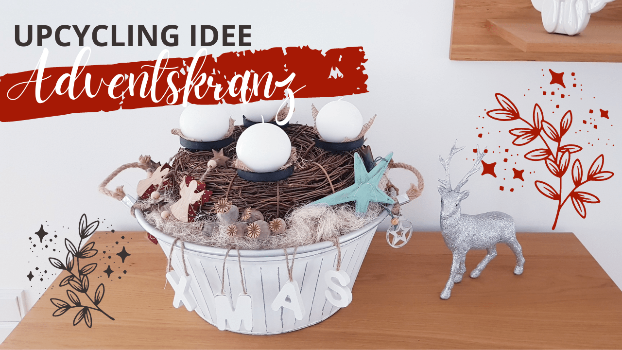 DIY – Adventskranz in Backform | Weihnachtsdeko