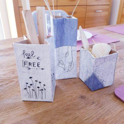 Upcycling Ideen mit Milchtüten | Tetrapacks